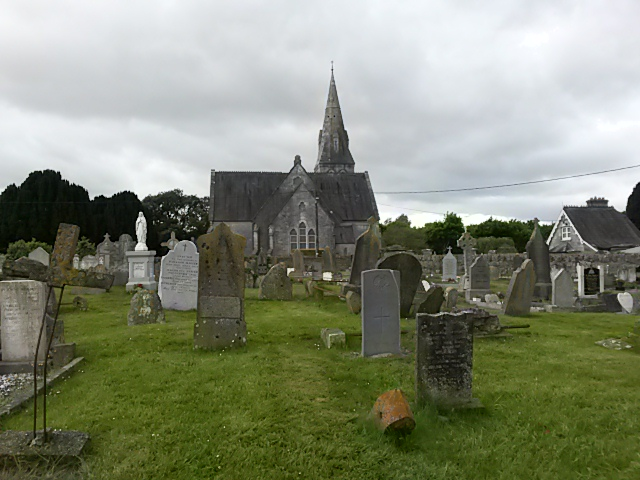 St. Luke's from eastern end of old cemetery