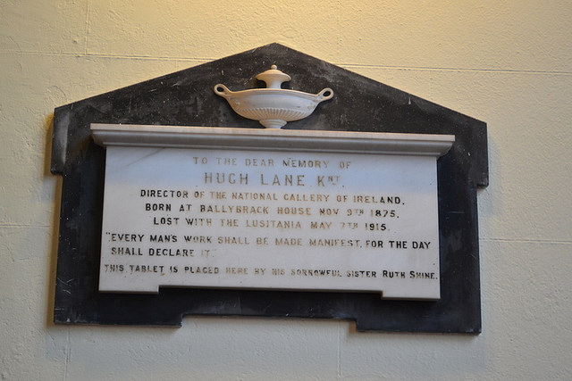 Hugh Lane memorial. Courtesy of Darren Wilkinson.